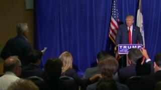 Donald Trump expulsó a periodista hispano de conferencia de prensa