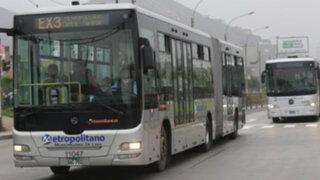 Buses troncales del Metropolitano contarán con cámaras de vigilancia