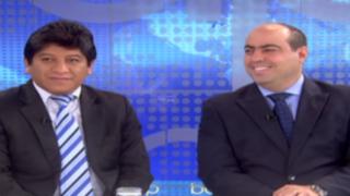 Josué Gutiérrez y Pedro Spadaro se pronuncian sobre acusaciones de Nadine Heredia