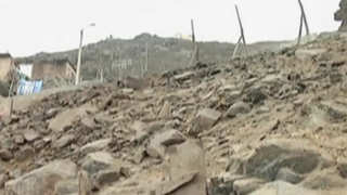Comas: rocas aplastan vivienda y causan muerte a un niño de seis años
