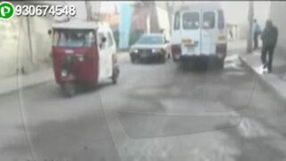 Chosica: pistas aledañas a la plaza central se encuentran en pésimo estado