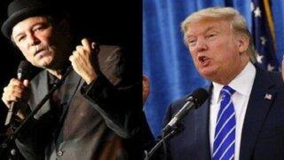 Rubén Blades arremete contra político Donald Trump
