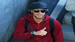 Neymar le envió saludos a los hijos de Jefferson Farfán