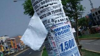 Habla el poste: El inmortal arte de la publicidad callejera