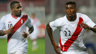 Jefferson Farfán y Carlos Ascues llegaron a Lima para sumarse a la Selección