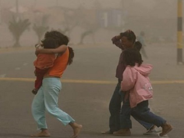 Senamhi: fuertes vientos en la Sierra continuarán hasta el lunes 31