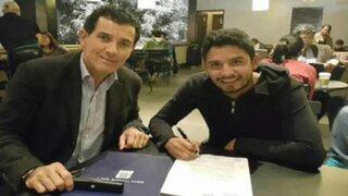 Reimond Manco firmó contrato con Alianza Lima