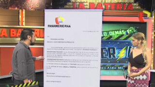 Gerencia de Panamericana Televisión lanza advertencia al programa La Batería