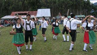 De aniversario: Oxapampa celebró sus 124 años de fundación