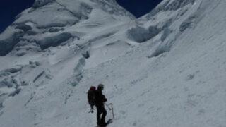Huaraz: montañistas rusos mueren cuando escalaban nevado Huandoy