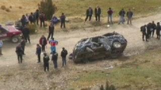Áncash: caída de combi a abismo deja seis muertos y siete heridos