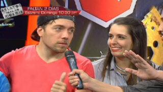 Esto Da Pena: Yidda Eslava y Julián Zucchi en los más divertidos retos de la TV
