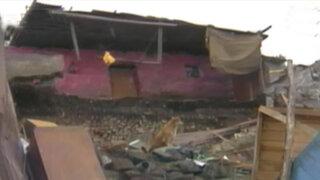Escolar murió sepultado tras derrumbe de pared en El Agustino