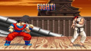 YouTube: Goku vs Street Fighter, la pelea más impresionante de los videojuegos