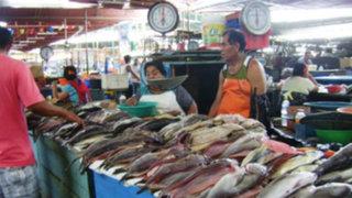 Precio del pescado se incrementa en terminal de VMT