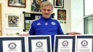 José Mourinho ingresó al Libro de los Récords Guinness