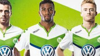 Wolfsburgo: Carlos Ascues inscrito para jugar la Champions League