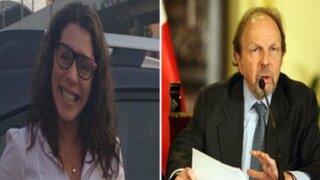 Rocío Calderón y Salomón Lerner asistieron a Fiscalía de Lavado de Activos