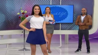 Trendy: candidatas del Miss Teen lucen lo último en ropa juvenil