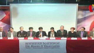 Sociedad Nacional de Radio y TV presenta cambios en autoregulación