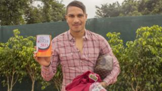 Paolo Guerrero y la selección peruana se unen a la prevención del cáncer