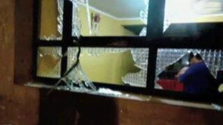 Delincuentes detonaron explosivo en vivienda de Huaura