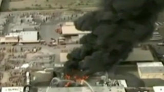 EEUU: se incendia planta de alquitrán en Phoenix