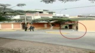Falsa alarma de artefacto explosivo en Surco