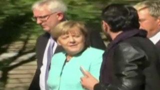 Alemania: Angela Merkel se convierte en la más querida de los refugiados