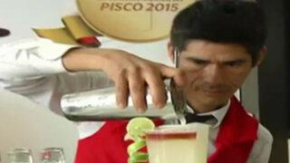 Mistura de cocteles: ofrecen tragos a base de pisco