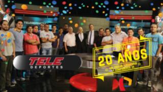 Teledeportes cumple 20 años en las pantallas de Panamericana Televisión
