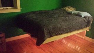 FOTOS: ¿Es posible fabricar una cama 'flotante'?
