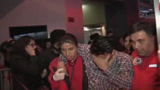 Santa Beatriz: incendio en set de programa de TV en vivo alarmó a asistentes