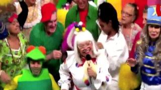 "Brasil: ancianos realizan singular parodia de ""El show de Xuxa"""
