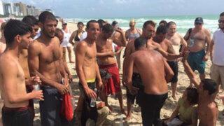 EEUU: 12 balseros cubanos llegan a costas de Miami Beach