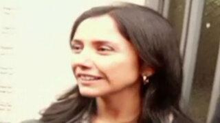 "Nadine Heredia acudió a Fiscalía para responder por caso ""Antalsis"""