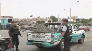 Callao: ejecutan medidas para impedir que lavadores de autos informales usen vía pública