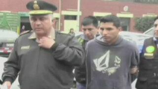 La Victoria: cae sujeto que trasladaba granadas de guerra en taxi