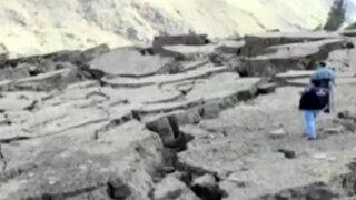 Áncash: casas en Tarabamba sufren graves daños por supuesta falla geológica