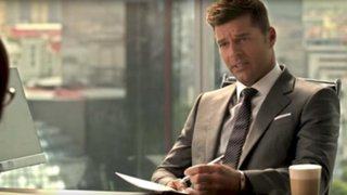 Espectáculo internacional: Ricky Martin se convierte en Christian Grey para comercial