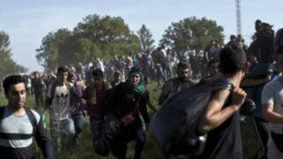 Más de 7 mil refugiados llegaron a Croacia tras no poder ingresar a Hungría