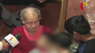 Autoridades rescatan a menores abandonados por su madre en SJM
