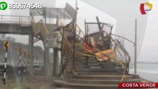 Denuncian que municipio de Lima paralizó obras de la Costa Verde