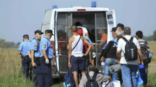 Croacia: refugiados son devueltos masivamente a Hungría