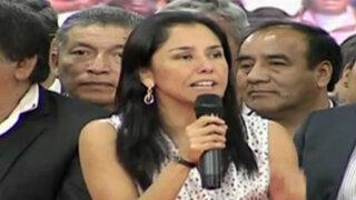 """Defensa de Nadine Heredia: """"Nos vamos a allanar a lo que diga el TC"""""""