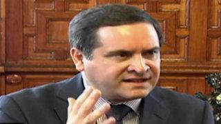 Iberico trató tema de libertad de expresión con premier Cateriano