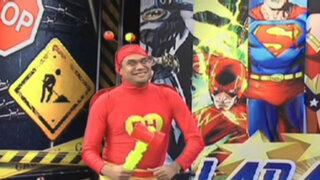 La Batería: Mira la divertida batalla entre Héroes y Villanos