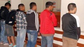 Huancayo: capturan a 5 delincuentes que pretendían asaltar banco