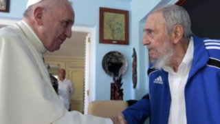 Papa Francisco se reunió con Fidel y Raúl Castro
