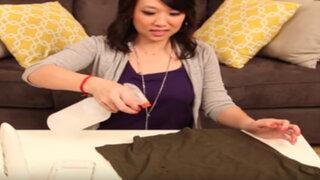 YouTube: el infalible truco para tener la ropa siempre 'planchada'